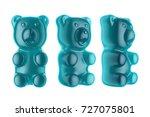 world's largest gummy bears. ... | Shutterstock . vector #727075801