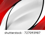 abstract wave line in red and... | Shutterstock .eps vector #727093987