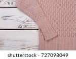cropped photo of handmade... | Shutterstock . vector #727098049