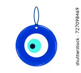amulet  talisman from the evil...   Shutterstock .eps vector #727098469