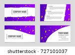 abstract vector layout... | Shutterstock .eps vector #727101037