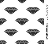 diamond sign icon seamless... | Shutterstock .eps vector #727103479