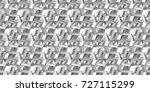 3d grey background. shaded... | Shutterstock . vector #727115299