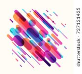 vector illustration of dynamic... | Shutterstock .eps vector #727121425