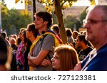 barcelona  spain   03 october... | Shutterstock . vector #727123381