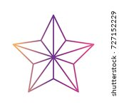 star award flat icon gradient... | Shutterstock .eps vector #727152229