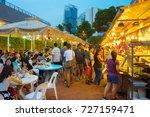 singapore   jan 14  2017  ... | Shutterstock . vector #727159471