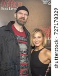 Small photo of Tyler Mane, Scout Taylor-Compton attend The Queen Mary Dark Harbor Media Preview, September 28th 2017, Long Beach, California