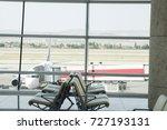 empty hall of modern business...   Shutterstock . vector #727193131