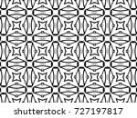 ornament with elements of black ... | Shutterstock . vector #727197817
