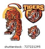 tigers mascot logo design  ...   Shutterstock .eps vector #727221295