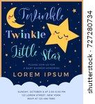 twinkle twinkle little star...   Shutterstock .eps vector #727280734