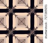 seamless checkered pattern.... | Shutterstock .eps vector #727285051