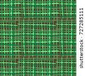 seamless checkered pattern.... | Shutterstock .eps vector #727285111