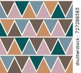 triangle pattern design ... | Shutterstock .eps vector #727288585