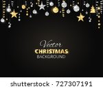 holiday background with... | Shutterstock .eps vector #727307191