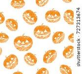 illustration for halloween... | Shutterstock .eps vector #727313674