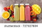 fruit smoothie fruit juice | Shutterstock . vector #727327834