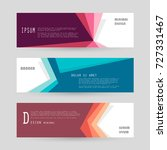 vector horizontal banner... | Shutterstock .eps vector #727331467