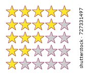 5 star rating. collection of...