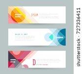 vector horizontal banner...   Shutterstock .eps vector #727336411