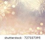Gold Vintage Fireworks And...