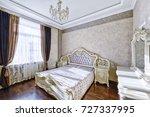 russia  moscow region   bedroom ... | Shutterstock . vector #727337995