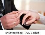 hands with rings   Shutterstock . vector #72735805