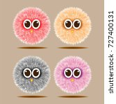 funny hairy colorful balls...