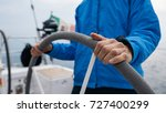 close up detail of skipper... | Shutterstock . vector #727400299