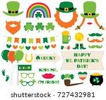 st. patrick s day vector... | Shutterstock .eps vector #727432981