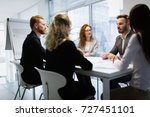 seminars and business meetings... | Shutterstock . vector #727451101