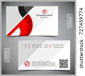 vector abstract creative... | Shutterstock .eps vector #727459774