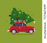 lovely flat vector design in... | Shutterstock .eps vector #727467499