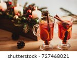 beautiful christmas background... | Shutterstock . vector #727468021