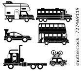 vehicle transportation icon...   Shutterstock .eps vector #727469119