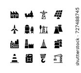 various icons representing... | Shutterstock .eps vector #727488745