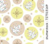vector seamless pattern with... | Shutterstock .eps vector #727515169