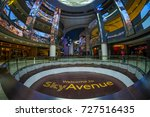 genting highland  malaysia  ... | Shutterstock . vector #727516435