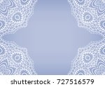 invitation or card template... | Shutterstock .eps vector #727516579