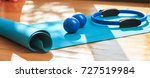 pilates equipment. exercise... | Shutterstock . vector #727519984