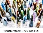 figures of different colors... | Shutterstock . vector #727536115