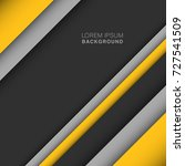 vector of modern abstract... | Shutterstock .eps vector #727541509