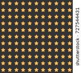 nice cartoon star pattern with... | Shutterstock .eps vector #727544431
