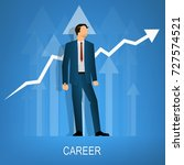 career business vector... | Shutterstock .eps vector #727574521