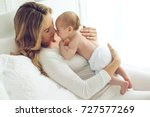 woman and child | Shutterstock . vector #727577269