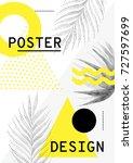 universal trend sales poster... | Shutterstock .eps vector #727597699
