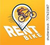 bike. rent   Shutterstock .eps vector #727621087