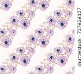 simple cute pattern in small... | Shutterstock .eps vector #727626127