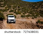 mountain terrain driving | Shutterstock . vector #727638031